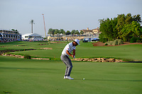 Hideto Tanihara (JPN) on the 18th fairway during the 2nd round of the DP World Tour Championship, Jumeirah Golf Estates, Dubai, United Arab Emirates. 16/11/2018<br /> Picture: Golffile | Fran Caffrey<br /> <br /> <br /> All photo usage must carry mandatory copyright credit (© Golffile | Fran Caffrey)