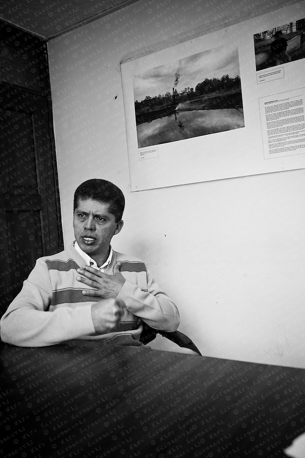 Pablo Fajardo Mendoza is an Ecuadorian native of Cofán descent, who was raised in extreme poverty. With the help of the Roman Catholic Church, he put himself through law school. He was the lead lawyer against Chevron Corporation, representing thousands of natives in the Lago Agrio oil field, formerly developed by Texaco.