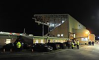 A general view of Sincil Bank, home of Lincoln City FC<br /> <br /> Photographer Andrew Vaughan/CameraSport<br /> <br /> The EFL Checkatrade Trophy Northern Group H - Lincoln City v Wolverhampton Wanderers U21 - Tuesday 6th November 2018 - Sincil Bank - Lincoln<br />  <br /> World Copyright © 2018 CameraSport. All rights reserved. 43 Linden Ave. Countesthorpe. Leicester. England. LE8 5PG - Tel: +44 (0) 116 277 4147 - admin@camerasport.com - www.camerasport.com