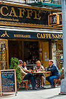 Caffe Napoli, Little Italy, New York, New York USA.