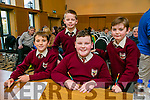 Fossa NS, Killarney, Finn Kennelly, Robert Brooks, Matthew O'Connor, Roan Daly at the Credit Union Chapter 23 Primary school's Quiz in the Ballyroe Heights Hotel on Sunday
