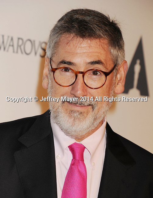 LOS ANGELES, CA- OCTOBER 01: Director John Landis attends The Academy of Motion Picture Arts and Sciences' Hollywood Costume Opening Party at the Wilshire May Company Building on October 1, 2014 in Los Angeles, California.