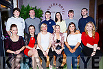 The staff of the Tralee Foodcourt, Mile Height enjoying their Christmas party in Benners Hotel on Monday night last.