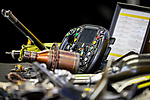 Detail of a steering wheel during the tests for the new Formula One Grand Prix season at the Circuit de Catalunya in Montmelo, Barcelona. February 19, 2020 (ALTERPHOTOS/Javier Martínez de la Puente)