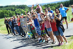 Romain Bardet fans during Stage 2 of the Criterium du Dauphine 2017, running 171km from Saint-Chamond to Arlanc, France. 5th June 2017. <br /> Picture: ASO/A.Broadway | Cyclefile<br /> <br /> <br /> All photos usage must carry mandatory copyright credit (&copy; Cyclefile | ASO/A.Broadway)