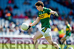 Tadhg Morley Kerry in action against  Galway in the All Ireland Senior Football Quarter Final at Croke Park on Sunday.
