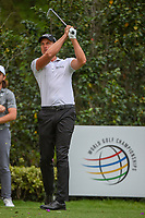 Henrik Stenson (SWE) watches his tee shot on 17 during round 2 of the World Golf Championships, Mexico, Club De Golf Chapultepec, Mexico City, Mexico. 2/22/2019.<br /> Picture: Golffile | Ken Murray<br /> <br /> <br /> All photo usage must carry mandatory copyright credit (&copy; Golffile | Ken Murray)