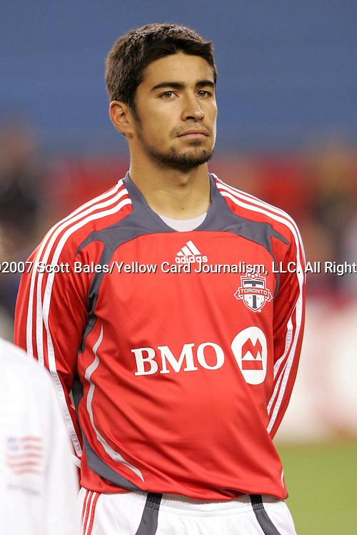 14 April 2007: Toronto's Paulo Nagamura. The New England Revolution defeated Toronto FC 4-0 at Gillette Stadium in Foxboro, Massachusetts in an MLS Regular Season game.