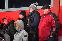 Fleetwood Town fans look on<br /> <br /> Photographer Richard Martin-Roberts/CameraSport<br /> <br /> The EFL Sky Bet League One - Saturday 15th December 2018 - Fleetwood Town v Burton Albion - Highbury Stadium - Fleetwood<br /> <br /> World Copyright &not;&copy; 2018 CameraSport. All rights reserved. 43 Linden Ave. Countesthorpe. Leicester. England. LE8 5PG - Tel: +44 (0) 116 277 4147 - admin@camerasport.com - www.camerasport.com