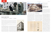 Magyar Építőművészet, Hungarian architectural monthly, on demolitions in the old Jewish quarter of Budapest.<br />