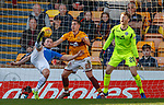30.03.2019 Motherwell v St Johnstone: Chris Kane goes close with an overhead kick