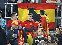 Spanische Fans - 23.03.2018: Deutschland vs. Spanien, Esprit Arena Düsseldorf