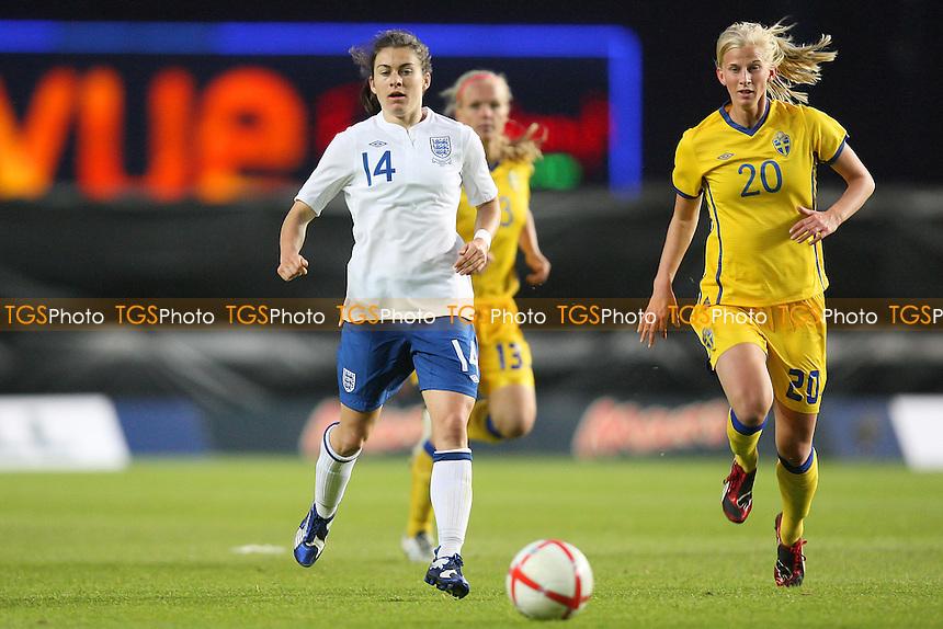 Karen Carney of England - England Women vs Sweden Women - International Football at Oxford United FC - 17/05/11 - MANDATORY CREDIT: Gavin Ellis/TGSPHOTO - Self billing applies where appropriate - Tel: 0845 094 6026