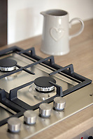 Pictured: The gas hob and a jug Wednesday 26 April 2017<br /> Re: Waterstone Homes' most recent property development Howell's Reach, is in Derwen Fawr, Swansea and is made up of 13 luxury family homes, and also includes five affordable homes.