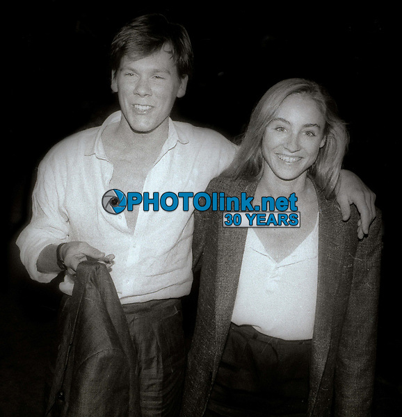 Kevin Bacon and Tracy Pollan 1982<br /> Photo By John Barrett/PHOTOlink