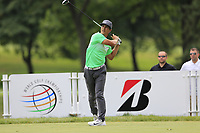 Thorbjorn Olesen (DEN) tees off the 3rd tee during Sunday's Final Round of the WGC Bridgestone Invitational 2017 held at Firestone Country Club, Akron, USA. 6th August 2017.<br /> Picture: Eoin Clarke | Golffile<br /> <br /> <br /> All photos usage must carry mandatory copyright credit (&copy; Golffile | Eoin Clarke)