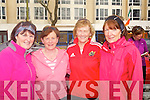 SUPPORT: Supporting the Kerry Hospice Foundation 10krun in Tralee on Good Friday, l-r: Helen Fitzgibbon, Bridie Geary, Bridie OCallaghan and Eileen OShea.....