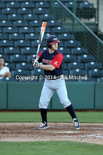 Cabe Reiten - 2014 Gonzaga Bulldogs (Bill Mitchell)
