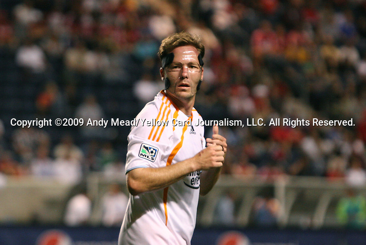 05 June 2009: Houston's Richard Mulrooney. The Houston Dynamo defeated the Chicago Fire 1-0 at Toyota Park in Bridgeview, Illinois in a regular season Major League Soccer game.