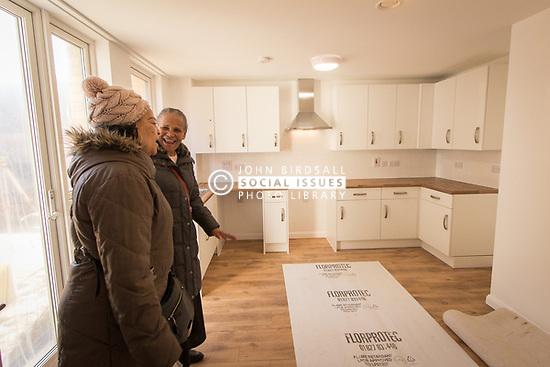 New social housing, London Borough of Haringey UK