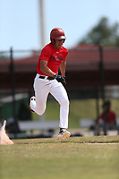 Yan Contreras (62) of Puerto Rico Baseball Academy in Vega Baja, Puerto Rico during the Under Armour Baseball Factory National Showcase, Florida, presented by Baseball Factory on June 12, 2018 the Joe DiMaggio Sports Complex in Clearwater, Florida.  (Nathan Ray/Four Seam Images)