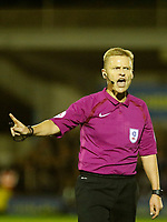during the Sky Bet League 1 match between AFC Wimbledon and MK Dons at the Cherry Red Records Stadium, Kingston, England on 22 September 2017. Photo by Carlton Myrie / PRiME Media Images.