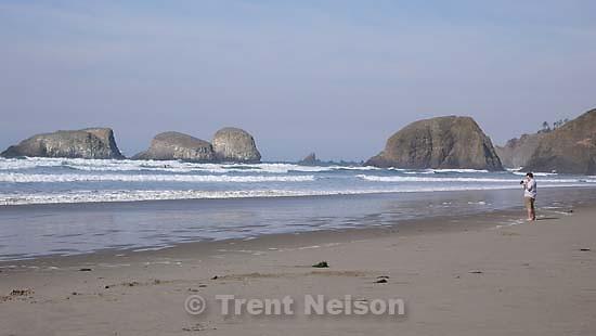trevor morris on the beach