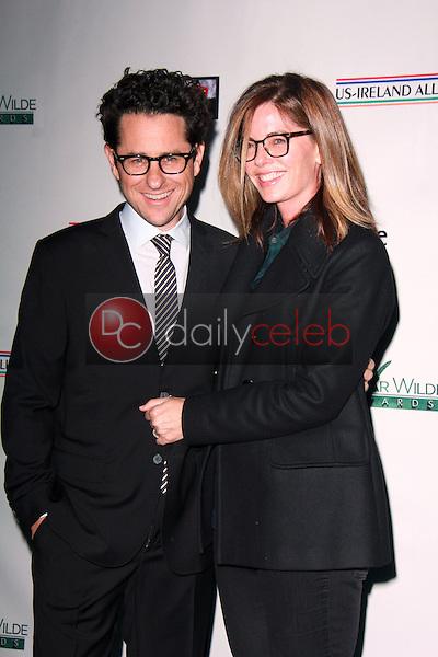 JJ Abrams, Katie McGrath<br /> at the Oscar Wilde US-Ireland Pre-Academy Awards Event, Bad Robot, Santa Monica, CA 02-19-15<br /> David Edwards/DailyCeleb.com 818-249-4998