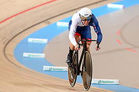Picture by Alex Whitehead/SWpix.com - 02/03/2018 - Cycling - 2018 UCI Track Cycling World Championships, Day 3 - Omnisport, Apeldoorn, Netherlands - Ryan Owens of Great Britain in action during the Men's Sprint qualifying.