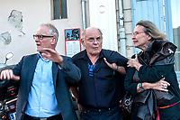 THIERRY FREMAUX MONTRE LE HANGAR DU PREMIER FILM A JEAN FRANCOIS ET CLAIRE THEVENIN - FESTIVAL LUMIERE 2017 A LYON - JOUR 3