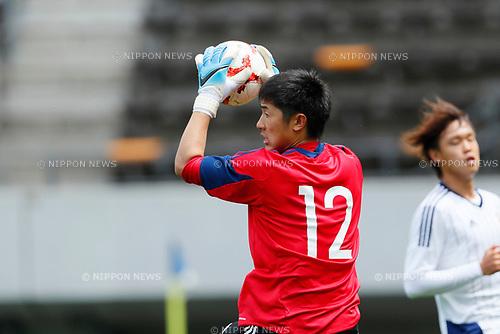 Keisuke Osako (JPN), <br /> APRIL 18, 2017 - Football / Soccer : <br /> U-20 Japan National team training match <br /> between U-20 - JEF United Chiba <br /> in Chiba, Japan. <br /> (Photo by Yohei Osada/AFLO SPORT)