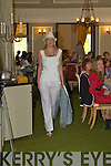 Models at the Killarney Rotary club afternoon fashion show in the Malton Hotel Killarney on Saturday.