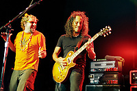Sammy Hagar and Kirk Hammet<br /> May 7, 2002<br /> **NO GERMANY**<br /> © Jay Blakesberg / MediaPunch