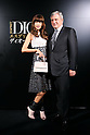 Youn-a and Sidney Toledano, Oct 28, 2014 : the 'Esprit Dior' Opening Reception on October 28, 2014 in Tokyo, Japan