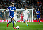 Schalke 04's germany forward Hoger during the Champions league football match Real Madrid vs Schalke 04 at the Santiago Bernabeu stadium in Madrid on march 10, 2015. Samuel de Roman / Photocall3000.