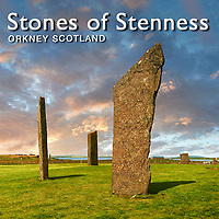 Neolithic Standing Stones of Stenness - Orkney - Pictures Images Photos