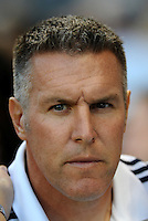 Peter Vermes Head Coach Sporting KC... Sporting Kansas City defeated Portland Timbers 3-1 at LIVESTRONG Sporting Park, Kansas City, Kansas.