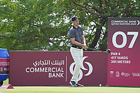 Ross Fisher (ENG) during the final round of the Commercial Bank Qatar Masters 2020, Education City Golf Club , Doha, Qatar. 08/03/2020<br /> Picture: Golffile | Phil Inglis<br /> <br /> <br /> All photo usage must carry mandatory copyright credit (© Golffile | Phil Inglis)