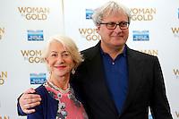 Helen Mirren and film director Simon Curtis <br /> Roma 02-10-2015 Hotel Bernini. Woman in Gold Photocall.<br /> Photo Samantha Zucchi Insidefoto