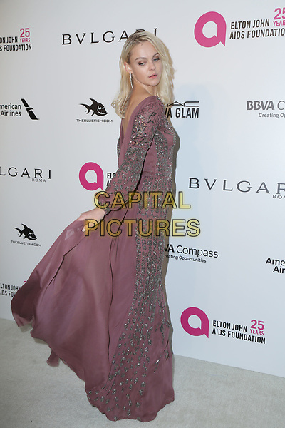 04 March 2018 - West Hollywood, California - Viktoriya Sasonkina. 26th Annual Elton John Academy Awards Viewing Party held at West Hollywood Park. <br /> CAP/ADM/PMA<br /> &copy;PMA/ADM/Capital Pictures