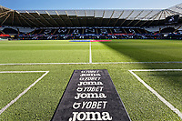 Interior view of the stadium during the Sky Bet Championship match between Swansea City and Cardiff City at the Liberty Stadium, Swansea, Wales, UK. Sunday 27 October 2019