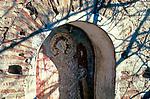 Fresco detail, half-buried Greek church, Sinop