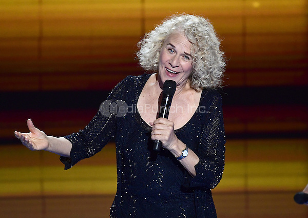Carole King performs &quot;You've Got a Friend&quot; prior to the start of the fourth session of the 2016 Democratic National Convention at the Wells Fargo Center in Philadelphia, Pennsylvania on Thursday, July 28, 2016.<br /> Credit: Ron Sachs / CNP/MediaPunch<br /> (RESTRICTION: NO New York or New Jersey Newspapers or newspapers within a 75 mile radius of New York City)