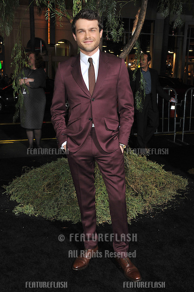 "Alden Ehrenreich at the world premiere of his movie ""Beautiful Creatures"" at the Chinese Theatre, Hollywood..February 6, 2013  Los Angeles, CA.Picture: Paul Smith / Featureflash"