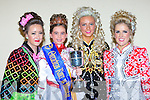 Little Saoirse Clifford Killarney who won the under 7 championship at the Oireachtas Rince na Mumhan in the INEC on Sunday l-r: Sarah Godfrey Kilgarvan, Saoirse Clifford Killarney, Una O'Connell Kilflynn and Mary O'Mahony Tralee