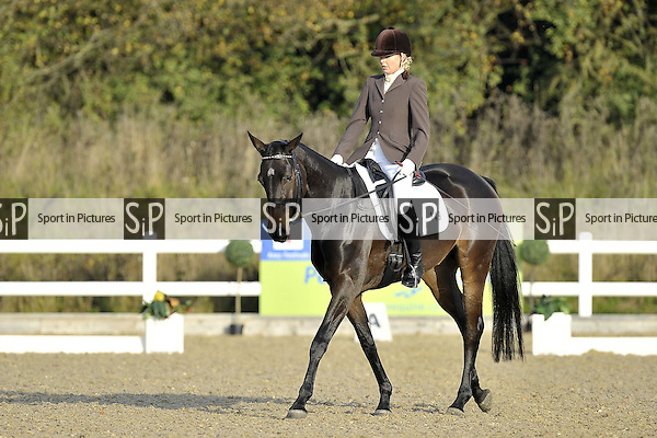 Arena 1. Petplan Equine British Dressage Festival. Brook Farm Training Centre. Essex. 11/10/2015. MANDATORY Credit Ellie Ingram/Sportinpictures - NO UNAUTHORISED USE - 07837 394578