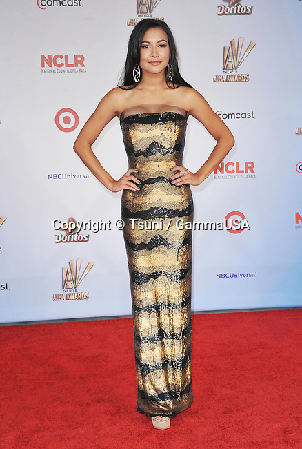 Naya Rivera at the 2011 NCLR Alma Awards at the Santa Monica Auditorium In Los Angeles.