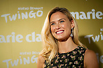 Israeli supermodel Bar Refaeli poses during a photo session at the opening of a Marie Claire prix awards  in Madrid. 2014/11/19. Samuel de Roman / Photocall3000