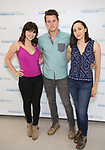 Krysta Rodriguez, Dave Thomas Brown and Lauren Patten attends the Media Day for 33rd Annual Powerhouse Theater Season at Ballet Hispanico in New York City.