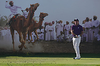 Scott Hend (AUS) on the 8th during Round 2 of the Oman Open 2020 at the Al Mouj Golf Club, Muscat, Oman . 28/02/2020<br /> Picture: Golffile | Thos Caffrey<br /> <br /> <br /> All photo usage must carry mandatory copyright credit (© Golffile | Thos Caffrey)